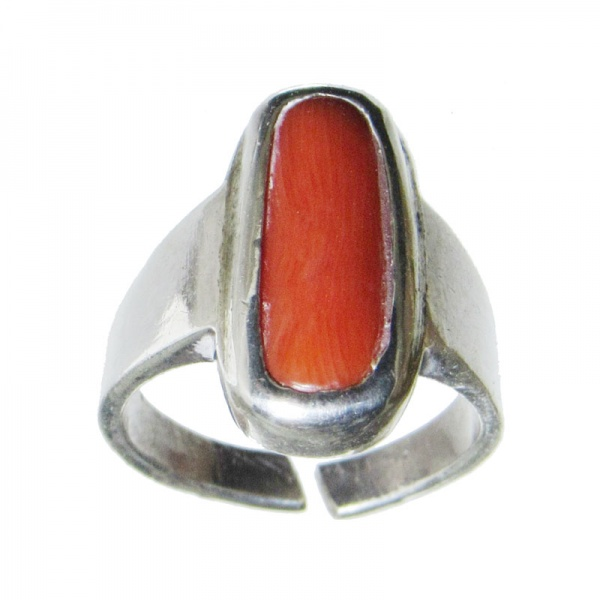 GemAstra | Moonga Gemstone Ring
